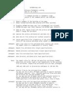 XXCopy Alphabetical Command Line Syntax List