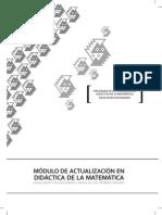 Didactica de la Matematica - Modulo II