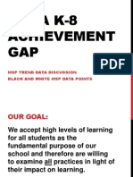 orca k-8 achievement gap