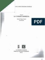 Historia de La Vida Cotidiana en México. Tomo II. La Ciudad Barroca. Antonio Rubial García. Capítulo II. p47-80