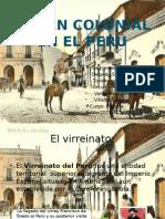 Orden Colonial Del Perú