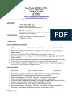 sample bcba resume 2