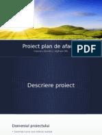 Proiect Plan de Afaceri