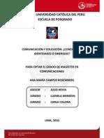Campos Rosemberg Ana Maria Comunicacion