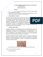 Identificacion de Fibras Manufacturadas