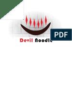 Devil Noodle Word