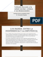 FERNANDEZ ENGUITA La Profesión Docente y La Comunidad Escolar