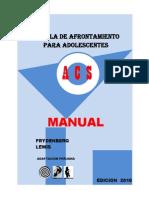 Manual de Afrontamiento Para Adolescentes (1)