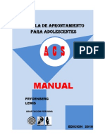Manual de Afrontamiento Para Adolescentes (1)