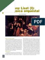 Franz Liszt [I] La Musica Orquestal