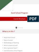 Excel School Program Details