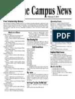 FWBBC Campus News 2-5-10