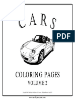 Cars Coloring Pages Vol 2