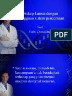 Askep Lansia Dengan Gangguan Sistem Pencernaan Stikba