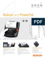 Mobile Printer SPP-R400, Bixolon