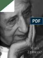 48. María Zambrano. El Camino Recibido