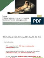 Técnicas Moleculares Para El Diagnostico e Inmunización
