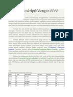 Statistik Deskriptif Dengan SPSS
