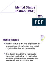 2. The Mental Status Examination (MSE).ppt