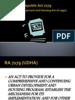 RA 7279 October 16,2012