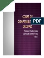 Cours de Comptabilité Des Groupes