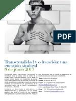 Jornadas Sobre Transexualidad y Educación - Una Cuestión Sindical