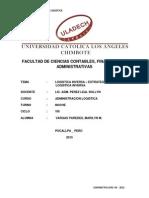 Trabajo Monografico de Administracion Logistica 16 Abril 2015
