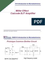 Miller Effect