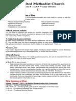 20100207 Announcements Print