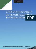 Codigo Organico Planificacion Finanzas Piblicas Copfp