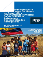 Guía PDOT Parroquial Version 25032015