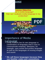 Media Language Intro