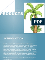 Coir Products Manufacturing Process