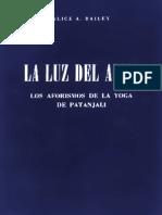 La Luz Del Alma (Maestro Tibetano Djwhal Khul Y Alice Ann Bailey)