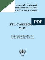 2012 - Casebook