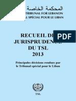 2013 - Recueil de jurisprudence