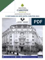 V Certamen de Arte Hotel Carlton Bilbao 2015 - CAST
