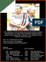 Festival de Comida Criolla Pueblo Cultural Fomentando