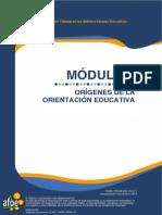 ORIGENES DE LA ORIENTACION EDUCATIVA