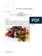 Soft Gelatin Capsules (Softgels)