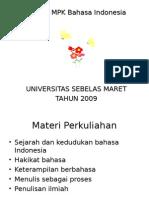 Materi Bhs Indonesia
