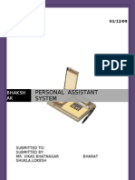 Personal Assistant System