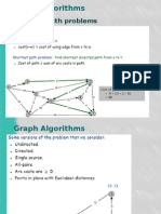 Shortest Path Graphalgorithms