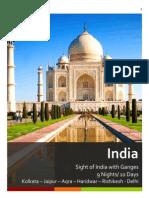 10 Days Itinerary - Kolkata- Jaipur- Agra- Haridwar- Delhi
