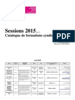 Solidaires Catalogue Syndical 2015
