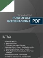 PORTOFOLIO INTERNASIONAL