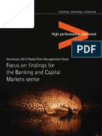 Accenture Risk Management Research Banking Capital Market Report