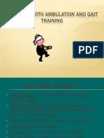 Ambulation and Gait Training