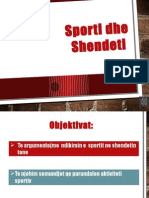 Power Point (Sporti Dhe Shendeti)