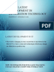 Latest technology  Development In the field of  IT(information technology)
